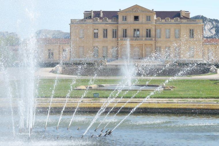 En balade pour une belle journée de printemps au Parc Borely à Marseille