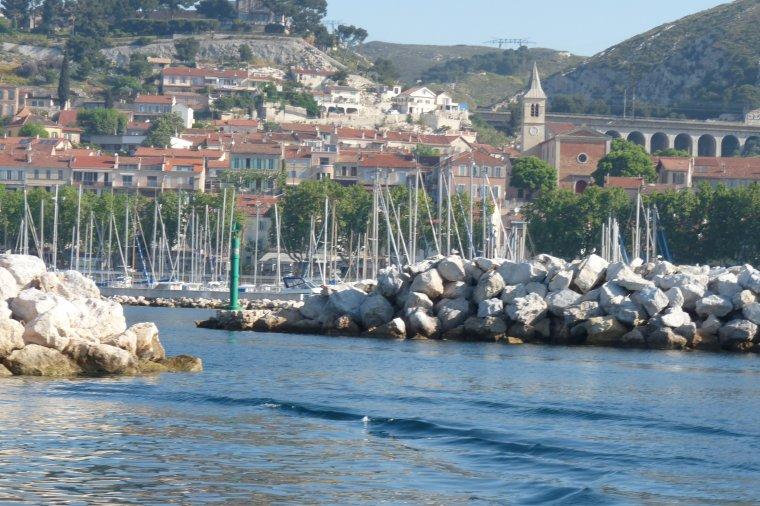 Départ ce matin tôt pour ma balade en mer de L'Estaque au Vieux Port de Marseille