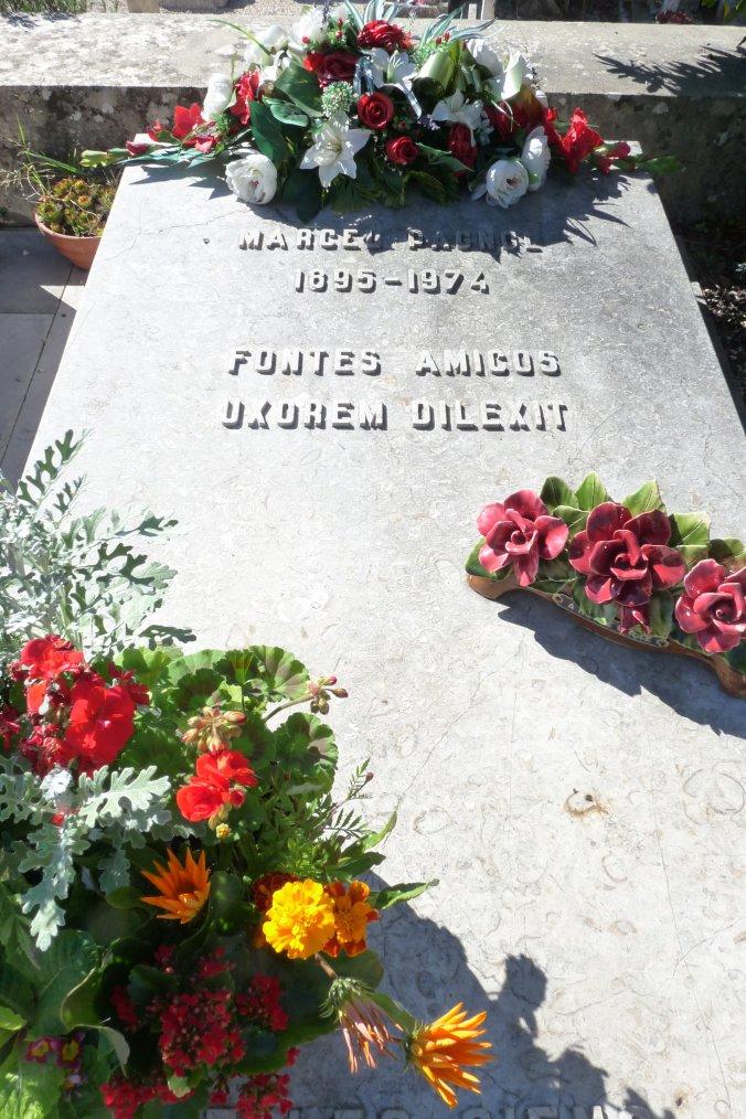 Notre Ami et notre Maître Marcel Pagnol ( photos Pierre Paul )