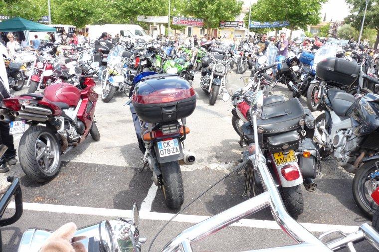 la moto ( photos Pierre Paul )