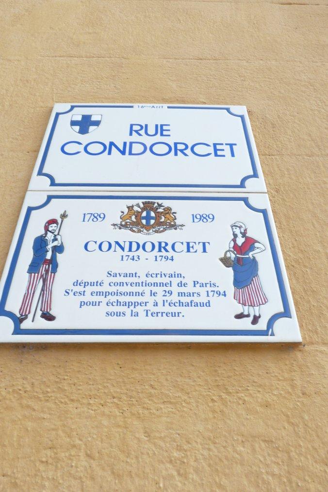 Plaque indicative d'une rue de Saint André Marseille ,je suis né à 200m de cette plaque