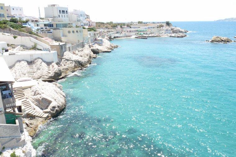 Marseille des vues depuis la corniche ( photos Pierre Paul )