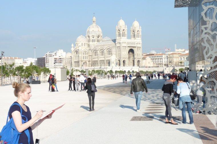 Jeudi 13 novembre beau temps sur Marseille (photos Pierre Paul )