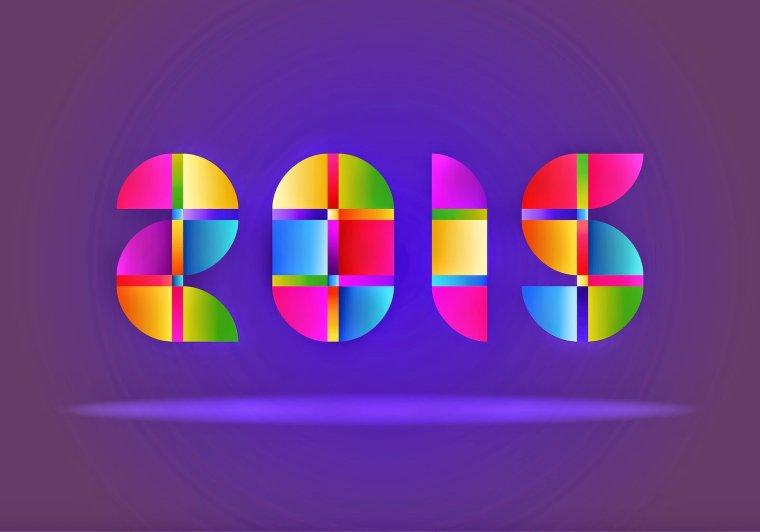 Bonne et heureuse année 2015  ( santé ,prospérité et bonheur