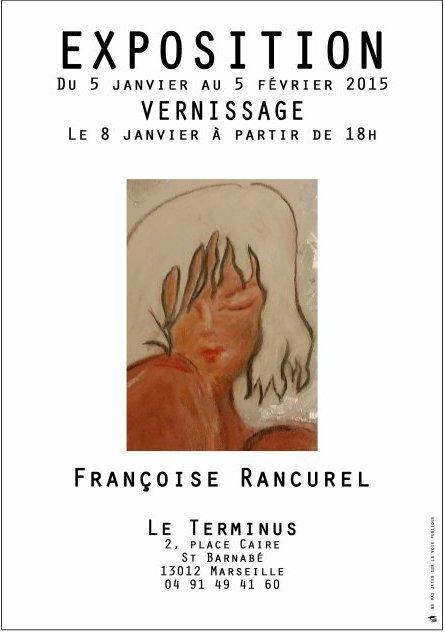 Mon amie Françoise Rancurel expose du 5 janvier au 5 février 2015