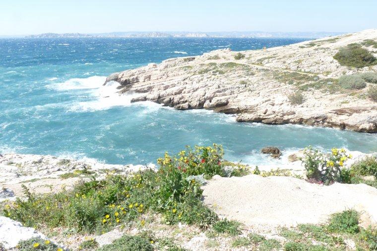 Marseille entre la Madrague de Montredon et Les Goudes (photos Pierre Paul R )