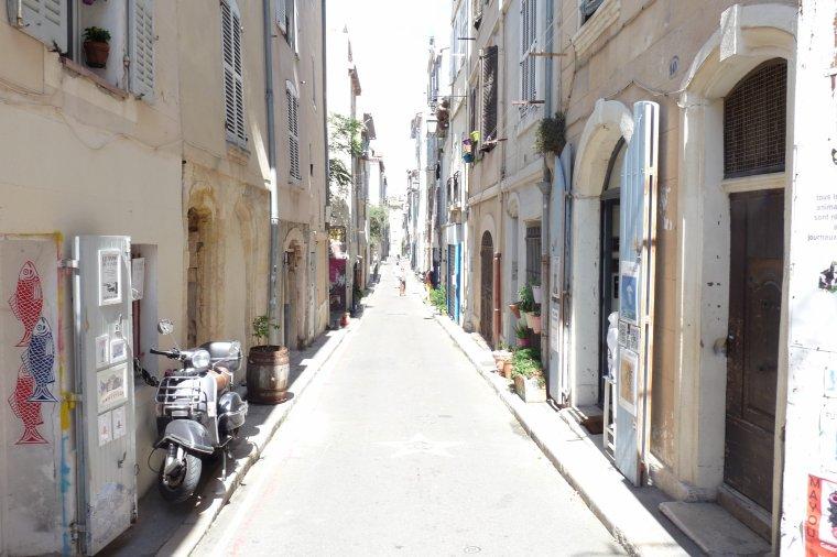 Quartier du Panier ,vieux Marseille ( suite )