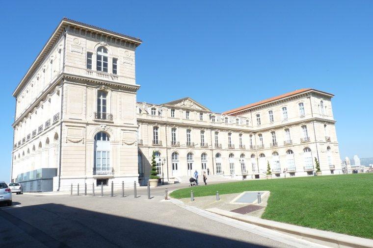 Le palais du Pharo à Marseille ( l'entrée du grand parc est gratuite )