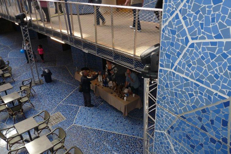 Après les bureaux et les restaurants , nouveaux commerces à l'intérieur des docks