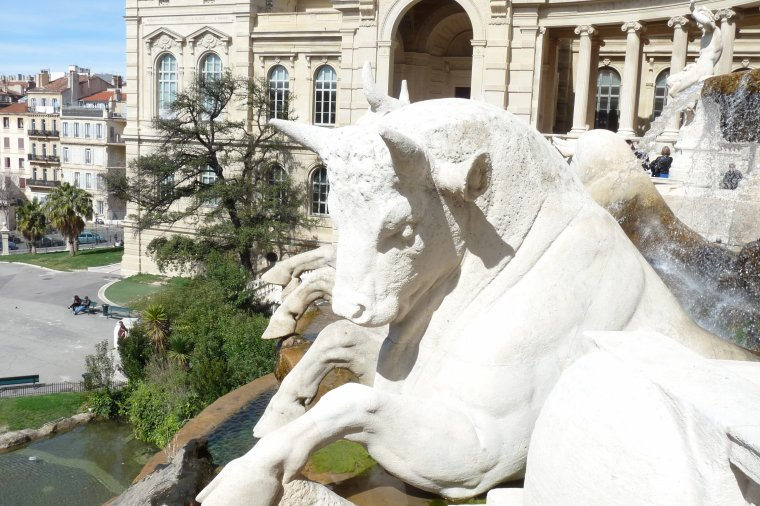 Diverses photos du Palais Longchamp à Marseille ( Photos Pierre Paul )