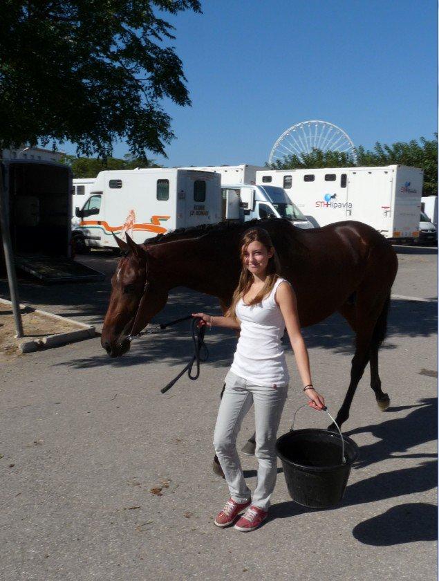 Depuis janvier les courses de chevaux ont repris à Marseille ( photos Pierre Paul )