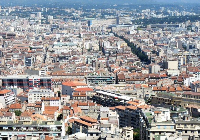 Et oui vous êtes à Marseille et c'est juste un petit aperçu ( photo Pierre Paul )