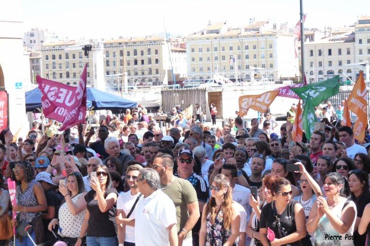 Le vent souffle où il veut ( Marche pour Jésus à Marseille )