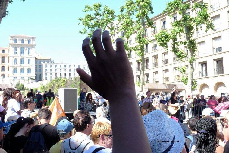 Marche et rassemblement pour Jésus à Marseille