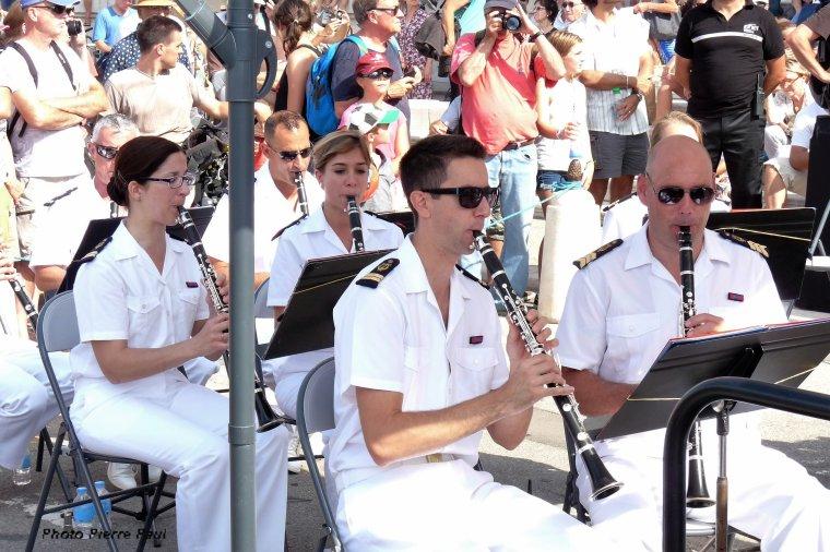 Il  y avait aussi le concert de la musique des équipages de la flotte