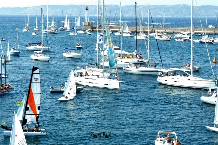 Adorable est la mer ( Parade des bateaux )