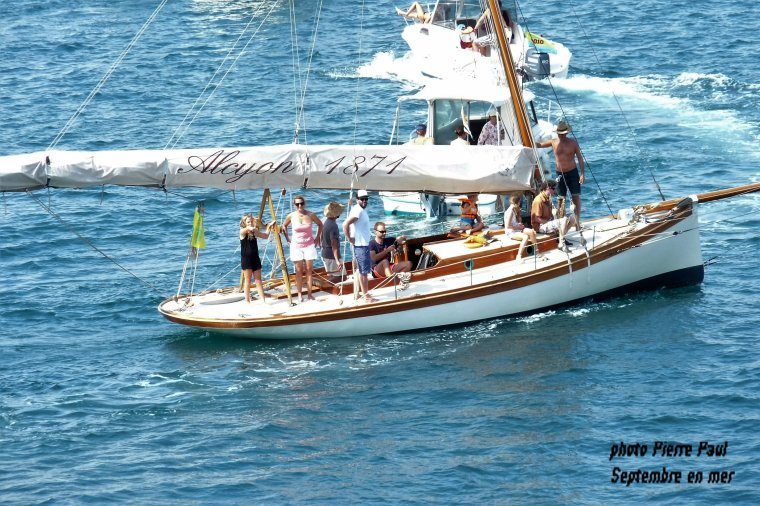 Toujours  septembre en mer que je continuerai vers le 25 septembre