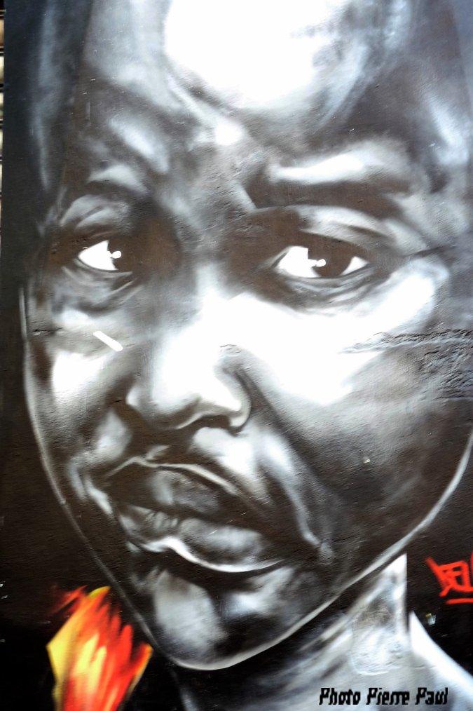 Quartier de notre dame du mont  Marseille - entre le graffiti et l'art qui a toujours existé