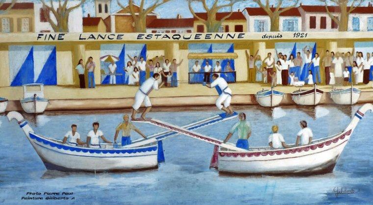 Les joutes Nautiques de l'Estaque - Marseille