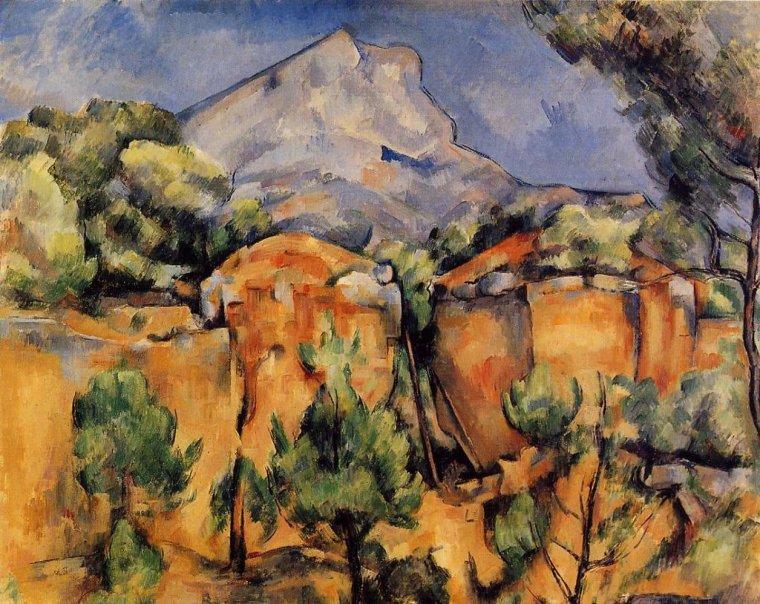 De Paul Cézanne -La Sainte Victoire