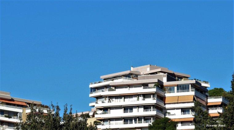 Sur la corniche Marseille , même lieu même heure ( Mois de janvier )