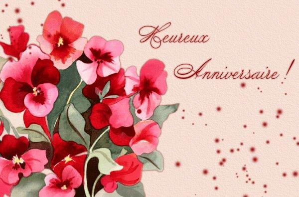 10 mars Joyeux Anniversaire pour mon amie Jossy du blog Manuréva