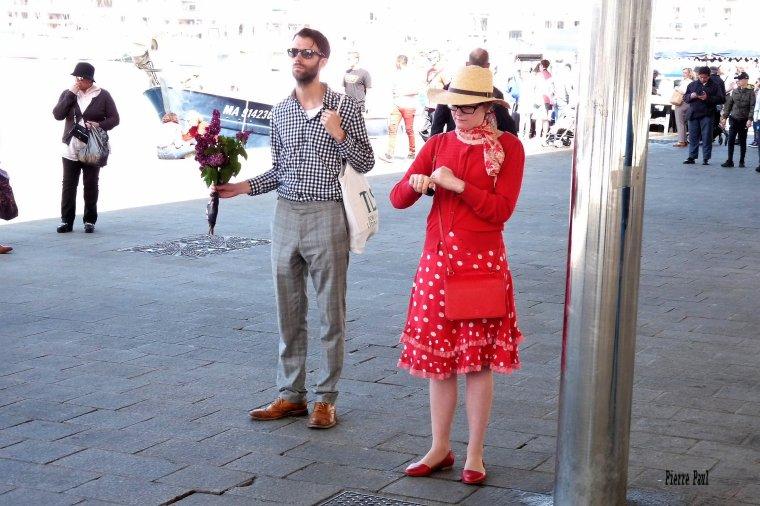 Trop bien certains touristes à Marseille