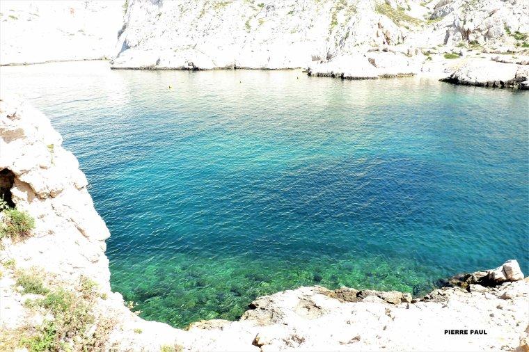 Depuis les îles du Frioul à Marseille ( j'adore les couleurs )