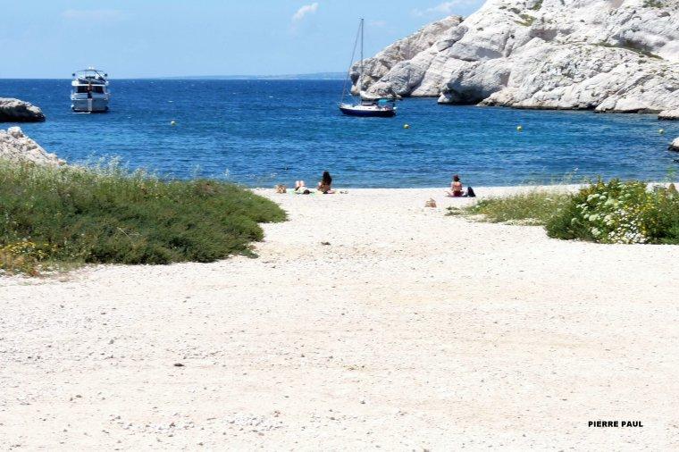 Depuis les îles du Frioul de Marseille