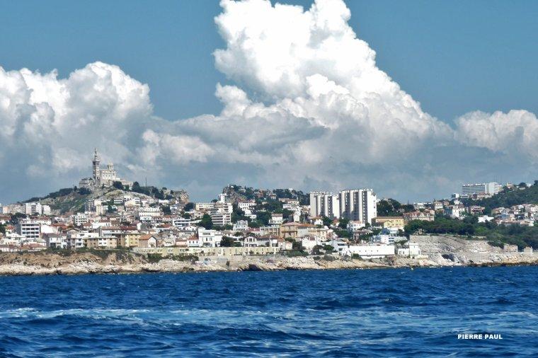 Retour vers le vieux port de Marseille-D'autres photos sur mon facebook