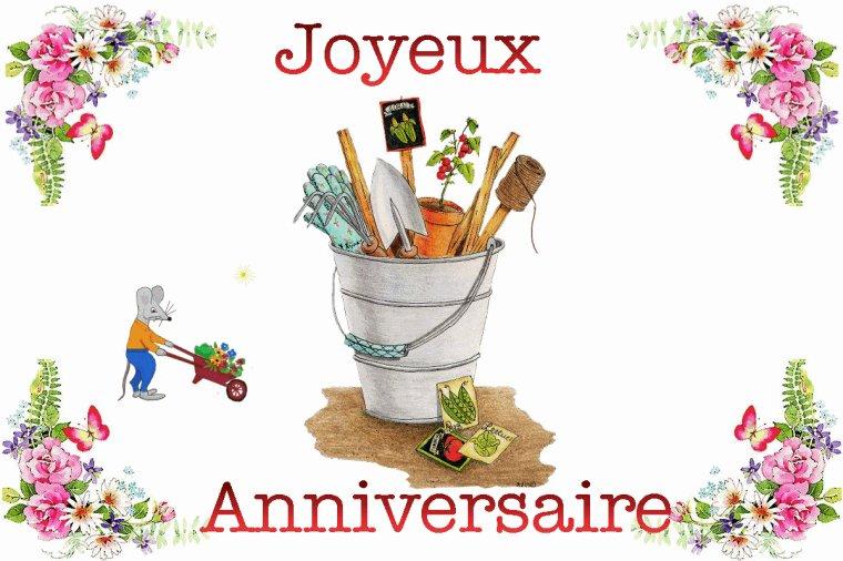 10 Août  Joyeux anniversaire pour Miss Pharo -  Cosette  741 -
