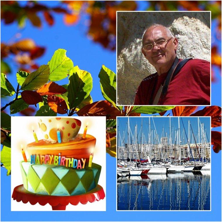 6 octobre Joyeux anniversaire pour notre ami Pierre du blog Collioure 59