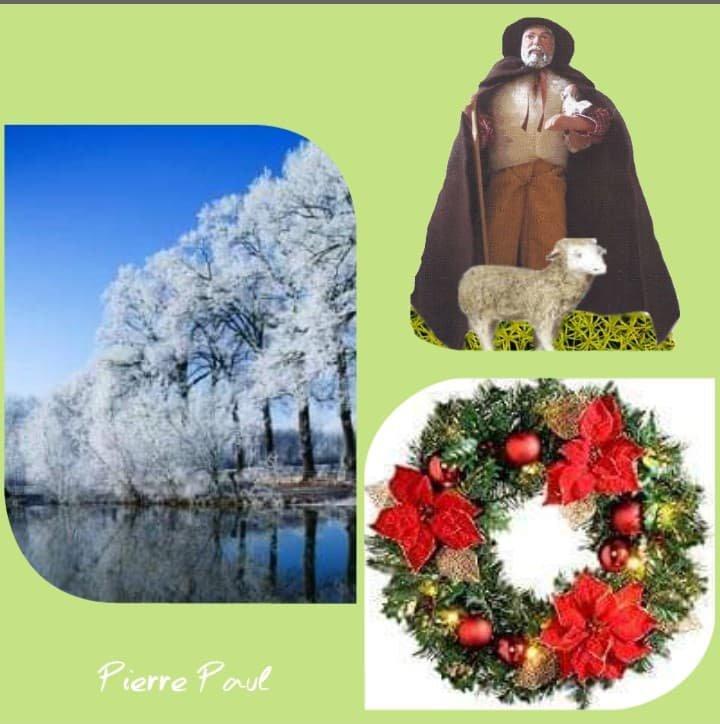 Cadeaux de Pierre Paul pour mes amis et amies et de bonnes préparations des fêtes