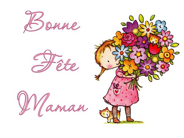 Bonne fête aux mamans d'ici et de l'autre chemin - Gros bisous de Pierre Paul
