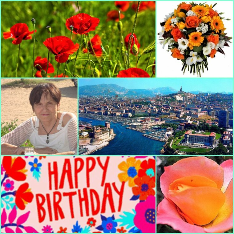 Samedi 17 Avril - Joyeux anniversaire Renée des blogs Fauvette 83 et Colibri 83