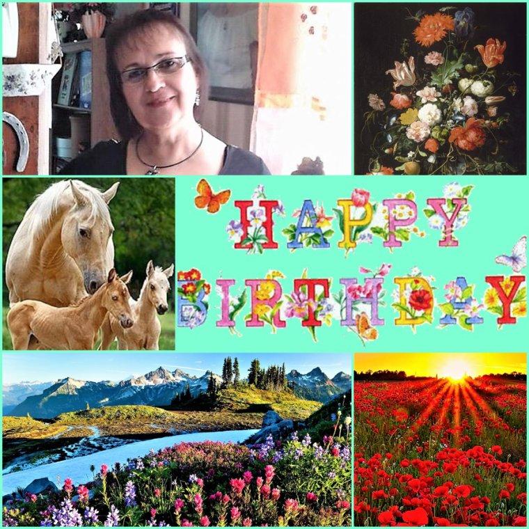 Samedi 24 avril - Joyeux anniversaire Véro du blog Amina Princesse rêveuse