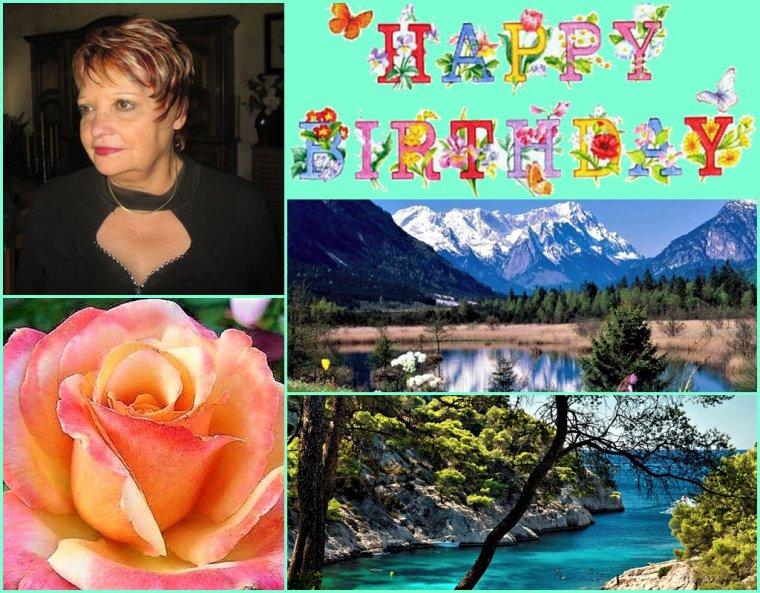 Samedi 15 Mai Joyeux Anniversaire pour notre amie du blog Josy 41