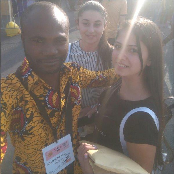 Erevan/Arménie ( 7 e forum international des caravanes des dix mots) dans l'environnement du sommet de la francophonie