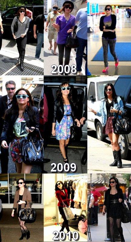 demi lovato;quand la preferes-tu?2008,2009 ou 2010???