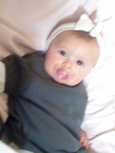 ma princesse a  6 mois