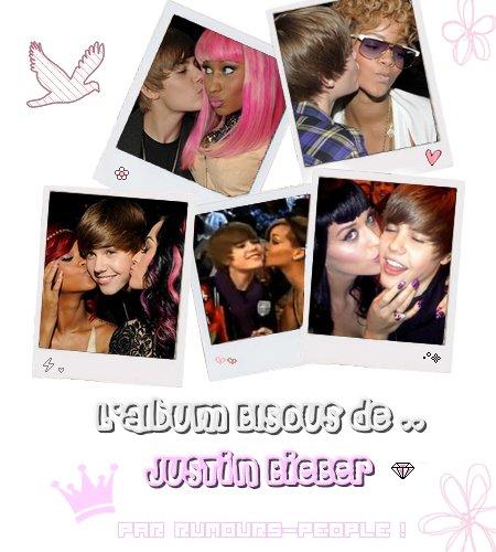ArticleTwitter de .. ; Justin Bieber! Petit album photo de ses plus célèbres Bisous qui sont collector! ;D Car en effet, le jeune canadien compte pas mal de photos 'Bisous' avec plusieurs stars différentes :) Halala! Sacré dragueur ce Bieber :P