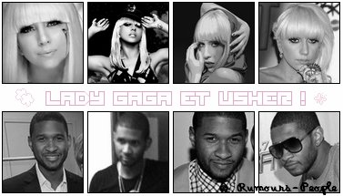 Usher s'apprete à enregistrer un duo avec Lady Gaga. Le chanteur de R&B et producteur de Justin Bieber l'a annoncer sur Twitter ; 'ca va etre un choc pour tout le monde ' Qen pensez vous ?  (: