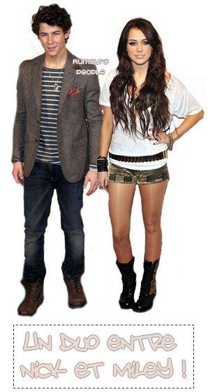 Avis &News αux fαns de Miley Cyrus ! Comment αvez-vous trouvé - Cαn't be Tαmed - sortie en Juin dernier ? J'espere que vous αvez αimé cαr Miley revient αvec un nouvel αlbum qui  devrαit sortir bientot (elle α αnnoncé début 20ll ). Et devinez quoi ? Dαns une petite semαine, le l4 jαnvier Miley & Nick Jonαs vont enregistrer un duo ! Qu'est sqe vous en pensez ; Bonne ou mαuvαaise idée ? - Hαte de l'écouter ? ;D