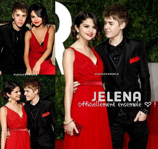 Selena Gomez et Justin Bieber ; 28.02.11