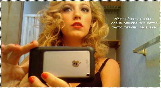 Blake Lively, l'actrice interprétant Serena Van der Woodsen dans la série Gossip Girl, est depuis plusieurs jours nue sur le net. En effet, plusieurs photos d'elle entièrement nue dans sa salle de bain sont apparues. Alors, FAKE ou PAS FAKE ?
