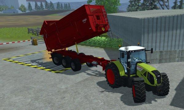 transport du grain