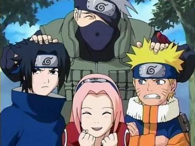 "Equipe n°7 ""Naruto"""