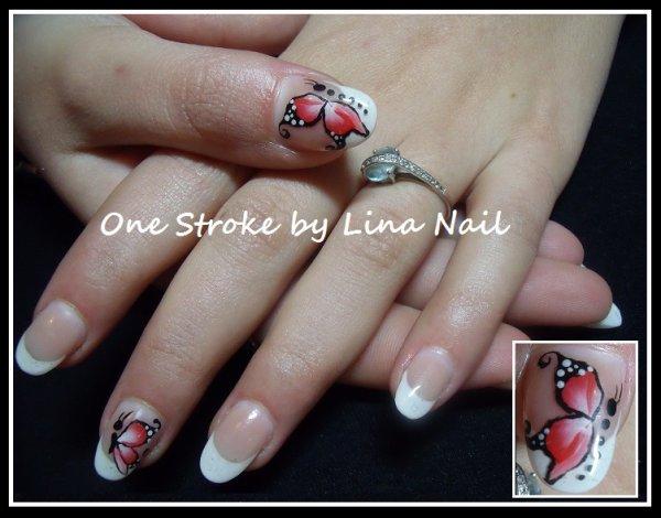 2e One stroke papillon
