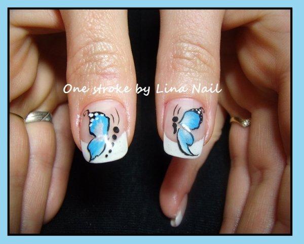 3e One stroke papillon
