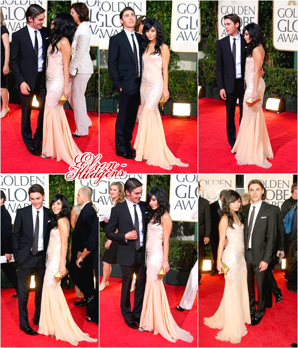 • Le 11 Janvier 2009, le couple Zanessa assistait à la 66e cérémonie des Golden Globes Awards !